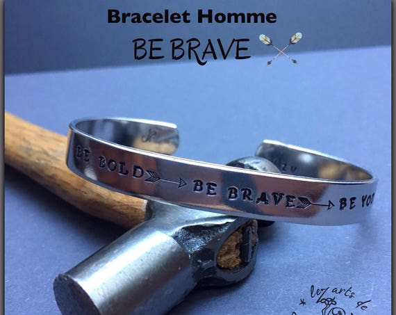 Bracelet jonc BE Bold - BE Brave - BE You