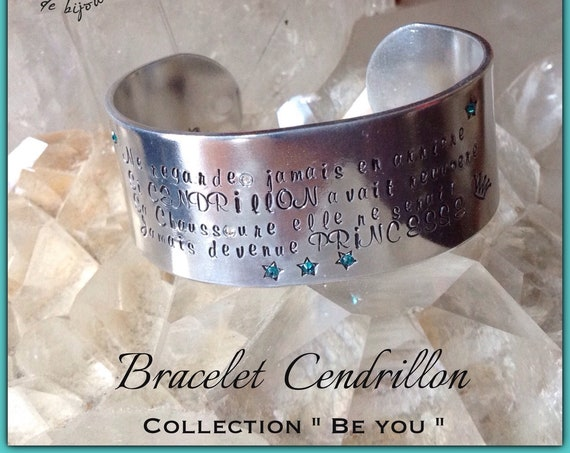 "Large Bracelet ""Cendrillon "" Collection BE YOU"