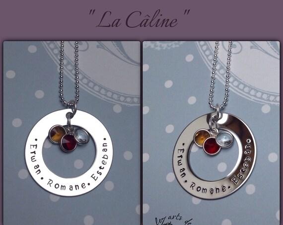 """Collier personnalisable """" La Caline """" Grand modèle"""