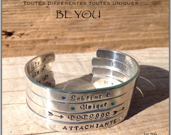 Bracelet jonc fin  Collection BE YOU