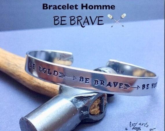 Bracelet jonc BE Bold - BE Brave - BE You