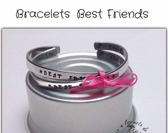 Friendship bracelets, personalized bracelet, friendship jewelry, VBF bracelet, friendship jewelry, best friends bracelet, best friends