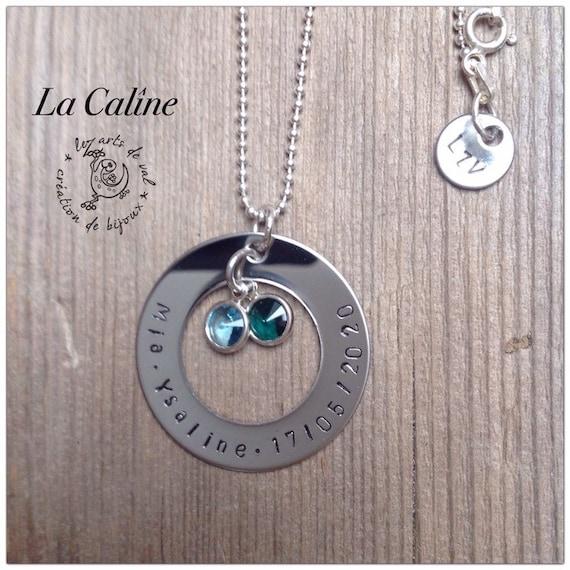 Collier personnalisé La Caline