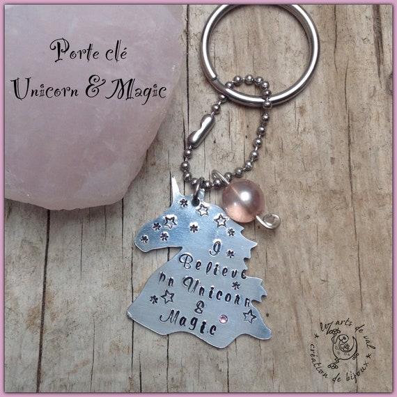 """Porte clé """" Unicorn & Magic"""""""