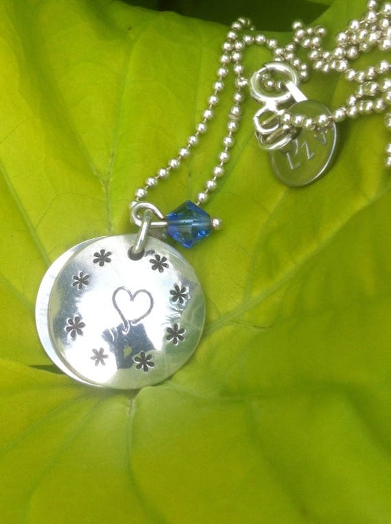 "Silver necklace personalized ""Secret"" small size"
