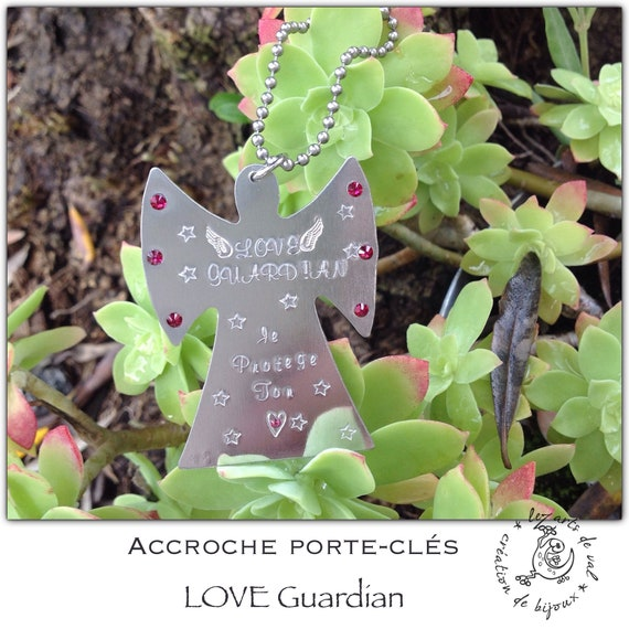 Accroche porte clés Love Guardian