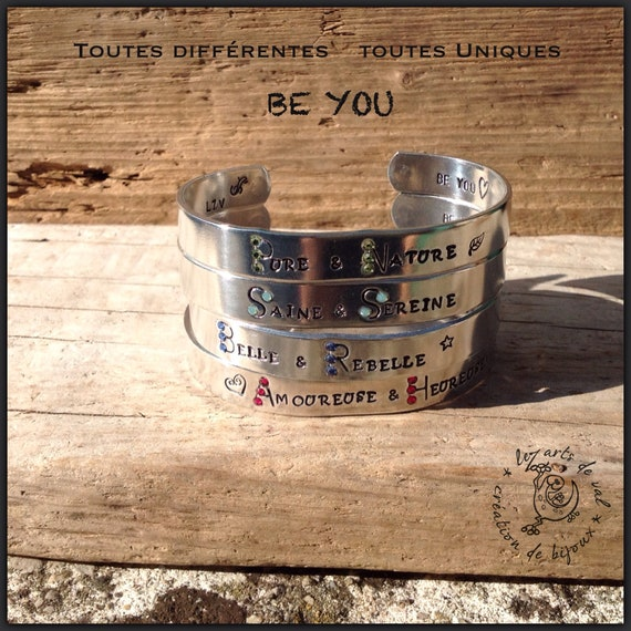 Bracelet jonc Collection BE YOU