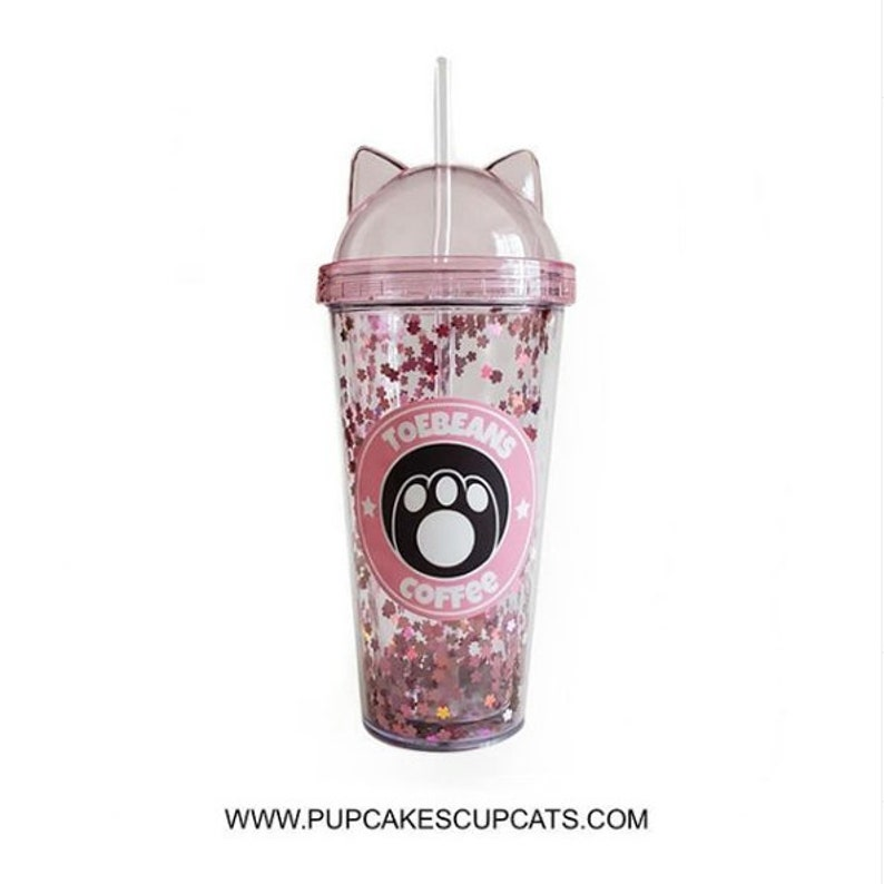 Preorder  BALTIMORE COMIC CON Pick Up Only: Pink Cat Ear 12oz image 0
