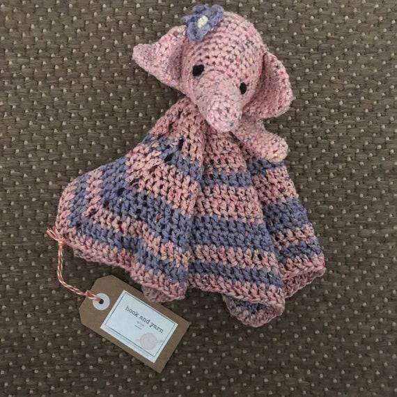 Crochet Elephant Lovey / Blanket - YouTube | 570x570