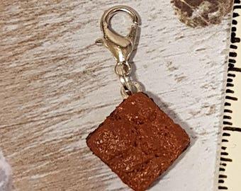 Charm' chocolate brownie s/charm