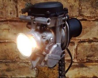Carburettor desk light, table lamp, desk lamp, bedside light.