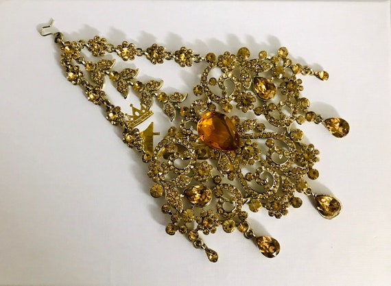 Layla Gold diamanté jhumar passa tikka side headpiece hijab hair indian bridal Pakistani jewelry