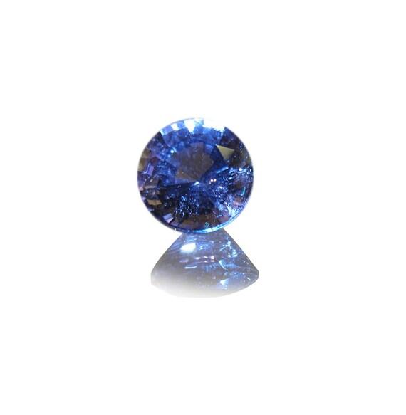 1 Pair Cobalt Blue Quartz Faceted Round Shaped Loose Gemstone Size 21X21X15 MM