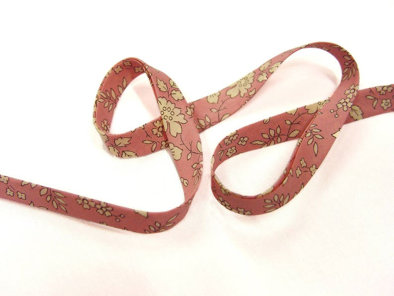 Bias Liberty Capel R x 50 cm Ribbon rose for bracelets...