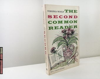 Virginia Woolf : The Second Common Reader - Vintage 1960 Paperback
