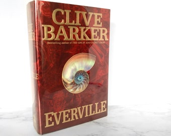 SIGNED! Everville by Clive Barker [FIRST EDITION]  First Printing // Flat Signed! // 1994 // Harper Collins // Hardcover