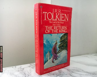 The Return of the King by J.R.R. Tolkien  (Lord of the Rings #3)  - Vintage 1985 Paperback