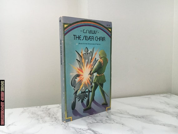 The Silver Chair By C S Lewis Chronicles Of Narnia 4 Etsy