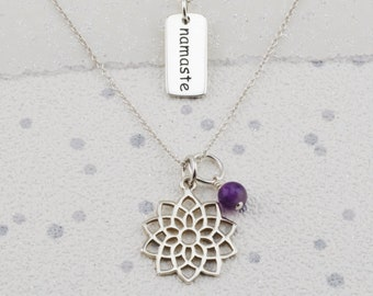 Silver Chakra Necklaces