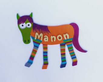 Wooden - horse Color name