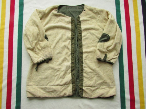 Size L-XL   50s 1950s Vintage US Army Military Kor