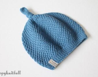 31b1c607611 Handmade Merino Wool Baby Beanie Hat