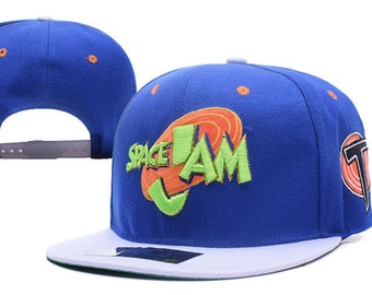 722c650e Space Jam Basketball Movie Baseball Cap Hat
