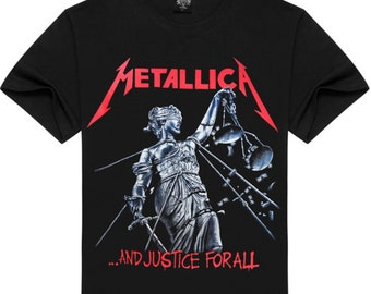 b1b723cce Metallica And Justice For All Black T-Shirt