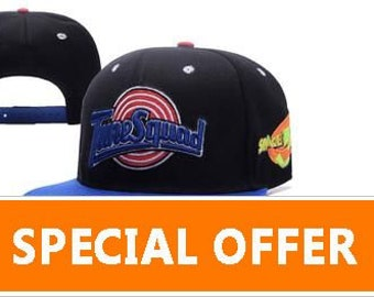164235e5958967 Space Jam Tune Squad Baseball Hat Cap Embroidered Logo