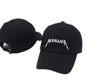 Metallica Logo Baseball Hat Cap 674544a866c