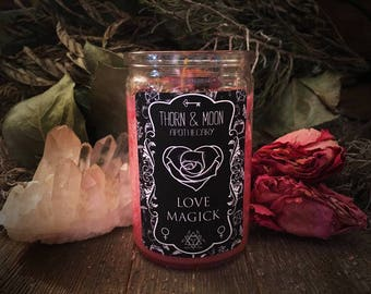 Love Magick Candle