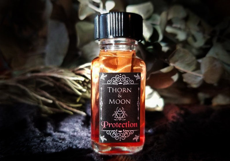Protection - Condition Ritual Oil - Pure Essentail Oils - Herbs - Roots -  Resins
