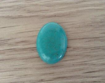 Cabochon 25 x 18 mm Howlite stone