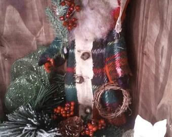 Primitive Santa Doll
