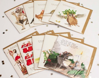 Buy all 12 cards for twenty pounds