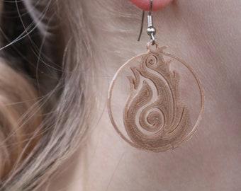 Fire Element Earrings