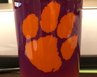 Custom 24 ounce wide mouth mason jar
