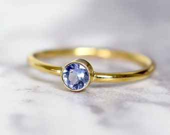 Tanzanite Ring in 14k Gold Fill