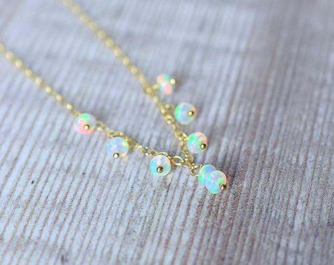 Featured listing image: Floating Opal Necklace