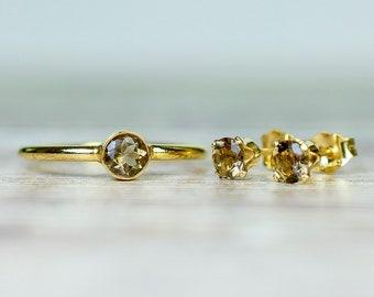Ring & Stud Earring Sets