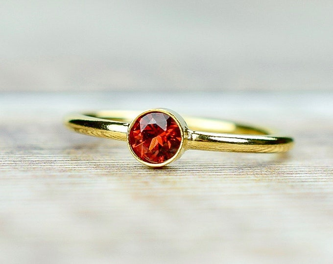 Featured listing image: Mozambique Garnet Ring