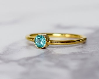 Apatite Ring in 14k Gold Fill