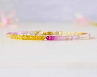 Tropical Sapphire Bracelet