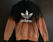 Acid Ombré Adidas Sweatshirt