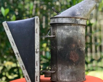 Early 1900's Amos Ives Root Bee Smoker