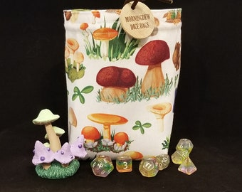 Caduceus's Mushroom Bag | POCKETS Option available
