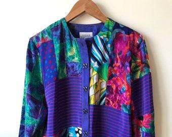 Vintage Maggie Shepherd Long Shirt M