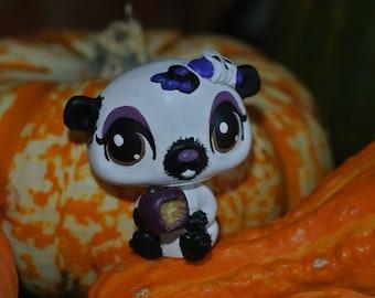 littlest pet shop lps custom halloween gothic ghost hamster