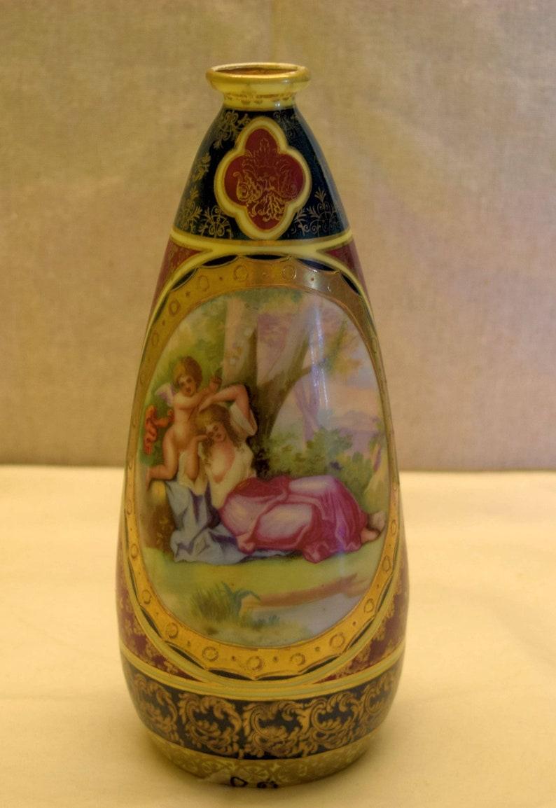 Altri Complementi D'arredo Complementi D'arredo Antiquariato Ottone Vaso Arabo Anni 50 Decorato A Mano Top Collezionismo Vintage