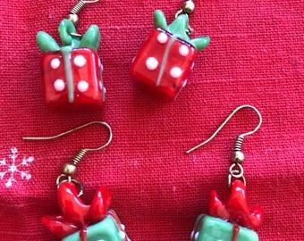 Christmas Presents Earrings.